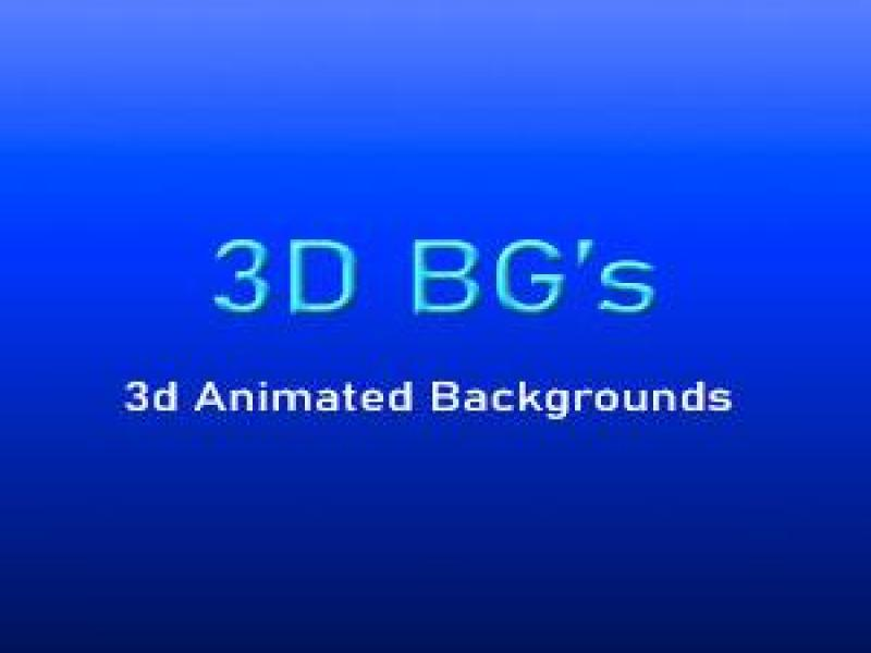 3D Animated backgrounds - 1